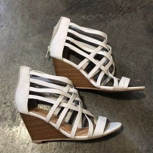 Shoes - NWOT. Stone wedges